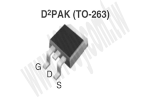 IRFBC30ASPBF–TO-263-3–D2PACK-VISHAY