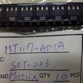 MT1117-ADJ  SMD Regulador lenear