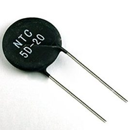 NTC 5D-20 Thermistor 5 ohmios, 7 Amp, disco 20mm