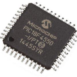 PIC18F4550-I/PT PLCC Microcontrolador