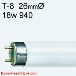 fluorescente t8 18w