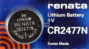 CR2477N Bateria lithium 3V Renata