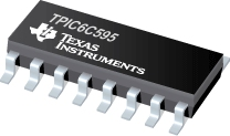 TPIC6C595  SMD  IC