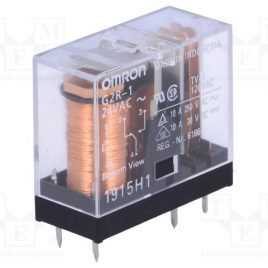 G2R-1-AC24V RELEY POWER SPDT 10A OMRON