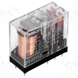 G2R-2-AC24V RELAY POWER SPDT 10A OMRON